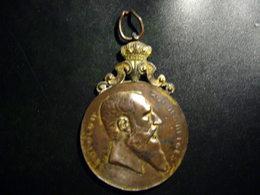 Décoration Leopold II Roi Des Belges Souvenir Du Cinquantenaire 1854-1904 St PIERRE A MORIALME - België