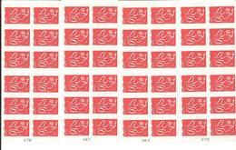Lot De 4 Carnets De 12 TVP LP - Usage Courant