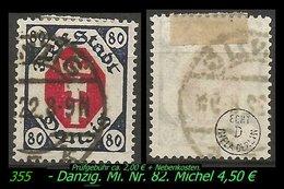 Mi. Nr. 82 In Gebraucht - Geprüft - DANZIG 5 K - Danzig