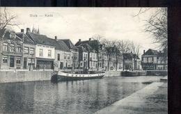 Sluis - Kade - Boot - 1908 - Sluis