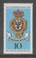 TIMBRE NEUF D'ALLEMAGNE FEDERALE - JDT 1975 : ENSEIGNE DE LA MAISON DE POSTE ROYALE DE PRUSSE, 1776 N° Y&T 715 - Journée Du Timbre