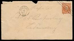 DUTCH INDIES. 1883. Koedoes - Semarang. 10c Stat Env Ovptd. - Indes Néerlandaises