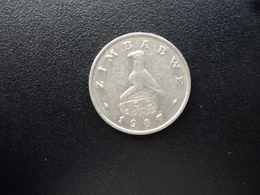ZIMBABWE : 10 CENTS   1987   KM 3     SUP - Zimbabwe