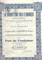 La Miroiterie Des Flandres - Blauw - Actions & Titres