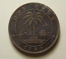 Liberia 1 Cent 1896 - Liberia