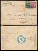 USA. 1941. Keywest / Fla - Cuba. Registr Fkd (Prexie) Env. - United States