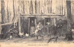 91 - Essonne / Forêt De Sénart - 911842 - Bûcherons - Beau Cliché Animé - Autres Communes