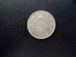 ZIMBABWE : 10 CENTS   1989    KM 3     TTB - Zimbabwe