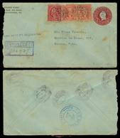 USA. 1927. Philadelphia - CUBA. Registr Stat Env + Adtls. - United States