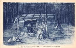 91 - Essonne / Forêt De Sénart - 911852 - Une Cabane De Bûcherons - France