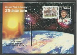 Pologne Poland Polen EP** MNH 2 Premier Cosmonaute Polonais Dans L'espace Soyouz 27.06.1978 - Ruimtevaart