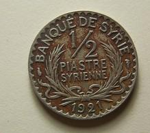 Syria 1/2 Piastre 1921 - Syrie