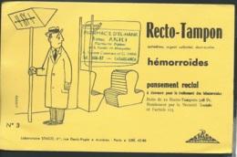 Recto Tampon Hémoroides , Pansement Rectal , Laboratoire Stago , Asnières Paris    - Ln31007 - Droguerías