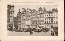 BRUXELLES : Maison Des Corporations   //  Très Vieille Carte - Monuments, édifices