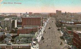 (91)  CPA  Winnipeg  Main Street  (Bon  état) - Winnipeg