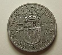 Southern Rhodesia 1/2 Crown 1947 - Rhodésie