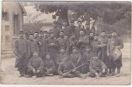 Militaria / CARTE PHOTO / Militaires / Musique / Poilus (Destinataire à St-Euphraise-Clairizet - Marne) - WW1 - Guerra 1914-18