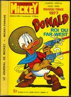 "MICKEY-PARADE N° 786-BIS "" DONALD ROI DU FAR-WEST "" - Mickey Parade"