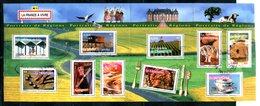 BF 57 Portraits De Régions Cachet à Date (légèrement Coupé à Droite) - Blocs & Feuillets