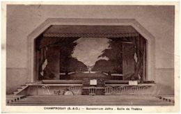 91 CHAMPROSAY - Sanatorium Joffre - Salle De Théatre - Francia