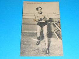 """Sports : Boxe )  Georges Carpentier - Champion D'europe De Boxe """" Signature  -  Année  - EDIT : ELD - Boxe"""