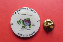 Pin's,Gin-Gin Chlöpfer,carnaval,tortue,turtle,Schildkröte,1994 - Animaux