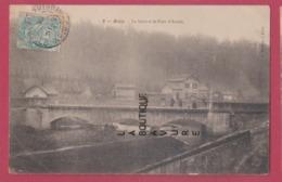 54 - BRIEY---La Gare Et Le Pont D'Arcole - Briey