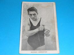 """Sports : Boxe )  Georges Carpentier - Champion D'europe De Boxe """"   -  Année  - EDIT : Deley - Boxe"""