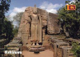 1 AK Sri Lanka * Die Avukana-Statue - Eine Stehende Statue Des Buddha In Der Nähe Von Kekirawa - Erbaut Im 5. Jh. - Sri Lanka (Ceylon)