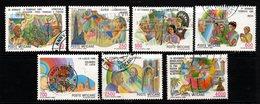 P092. VATICAN 1987. SC#:795 // 802- USED STAMPS. JOURNEYS OF POPE J.P. II - Vaticano (Ciudad Del)