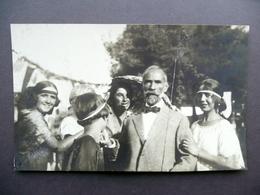 Fotografia Originale Michetti Festeggiato Dalle Fanciulle Salvatore Andreola - Photographs