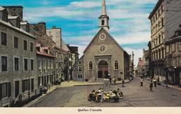 CANADA---QUEBEC---place Royale Et église Notre Dame Des Victoires--voir 2 Scans - Québec - La Cité