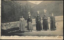 31   Luchon Types Et  Costumes .Laitières De La Vallée  De Larboust - Luchon