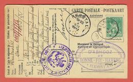 HERSTAL  - Demande D'affiliation à La Caisse De Retraite 1912 -  Charbonage D'Abhooz Et Bonne-Foi-Hareng - Herstal