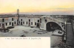 A-19-2519 : SAINT AUGUSTINE.  COURT YARD.  FORT MARION. - St Augustine