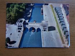 Doornik - Tournai / Vue Aérienne - Le Pont Des Trous (luchtzicht) -> écrit (geschonden, Damaged) - Doornik