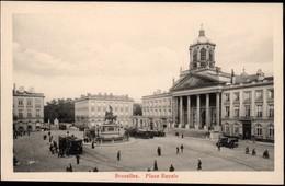 BRUXELLES :   Place Royale  // Tram 8 - Monuments, édifices
