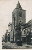 CPA - Belgique - Meenem - Menin - Eglise St Vaast Et Rue De Lille - Menen