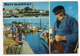 NOIRMOUTIER--1976-- Multivues --Le Port  ( Pêcheurs) -- - Noirmoutier