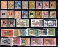 Gabon Belle Petite Collection D'anciens. Bonnes Valeurs Neufs * Et Oblitérés. B/TB. A Saisir! - Gabon (1886-1936)
