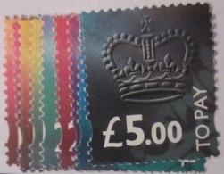 Grande-Bretagne - YT Taxe T98 à T106 ** - Forte Cote - 1952-.... (Elizabeth II)