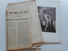 EROTISME, FEMMES NUES, PHOTOGRAPHIE ANCIENNE, REUNION DE PHOTOGRAPHIES EROTIQUES,  NUS, MUSEE DU NU, ART - Albums & Collections