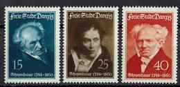 Danzig 1938 // Mi. 281/283 * - Danzig