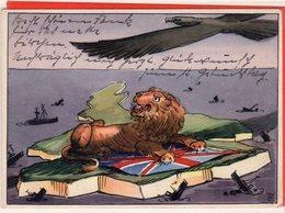 AK Propaganda Kampf Um England I - Feldpost-Nr. 18330 Kriegsberichter Clemens Schocke Nach Hagen Westfalen 1941 - Allemagne