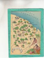 GUYANE  CARTE ( Departements  DOM TOM Colonies Francaises ) - Cartes Géographiques