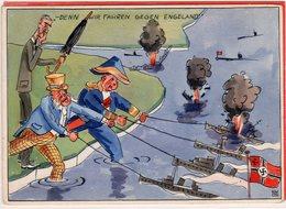 AK Propaganda Kampf Um England II - Feldpost-Nr. 18330 Kriegsberichter Clemens Schocke Nach Hagen Westfalen 1941 - Germania