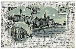 Gruss Aus Mulhausen Mulhouse Datée Timbrée De 1899 - Mulhouse