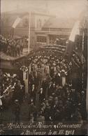! [68] Mulhouse Besuch Von Poincare + Clemenceau 10.12.1918, 1. Weltkrieg, Seltenes Foto, Photo - Mulhouse