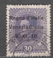 Italy Venezia Giulia 1918 Sassone#9 Used - Venezia Giulia
