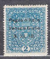 Italy Venezia Giulia 1918 Sassone#15 Mint Hinged - Venezia Giulia